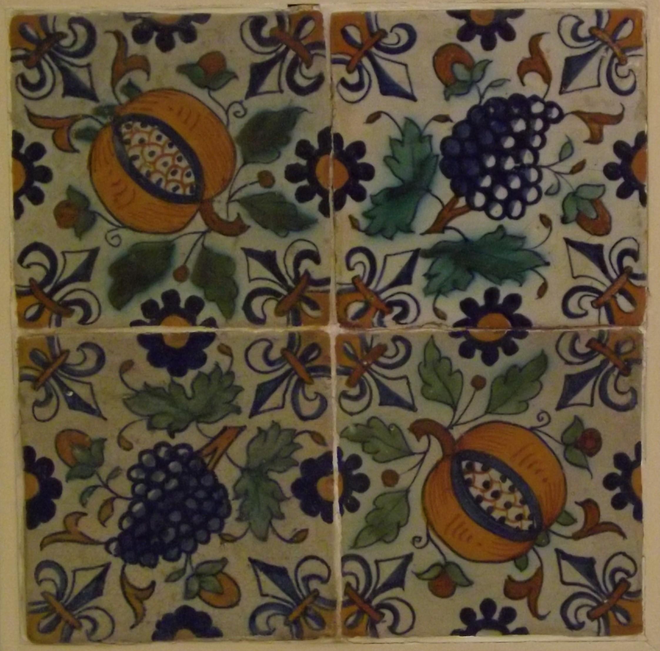 Ornamenttegels 1600-1650